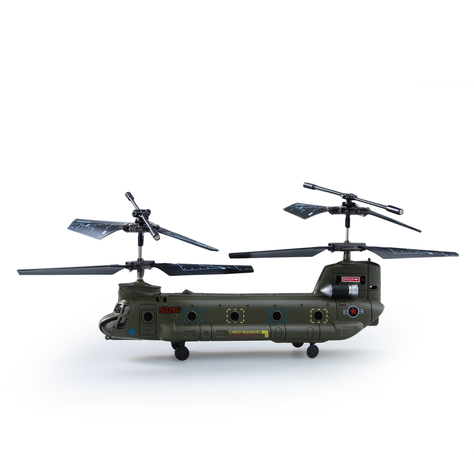 Syma 16 5cm s026g 3 5ch 3ch mini chinook rc helicopter for Helicoptere syma