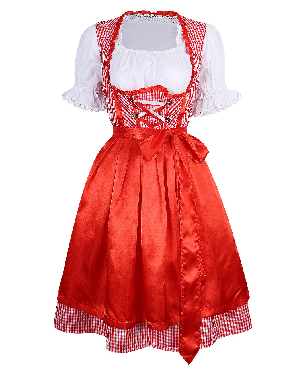 how to make a dirndl costume