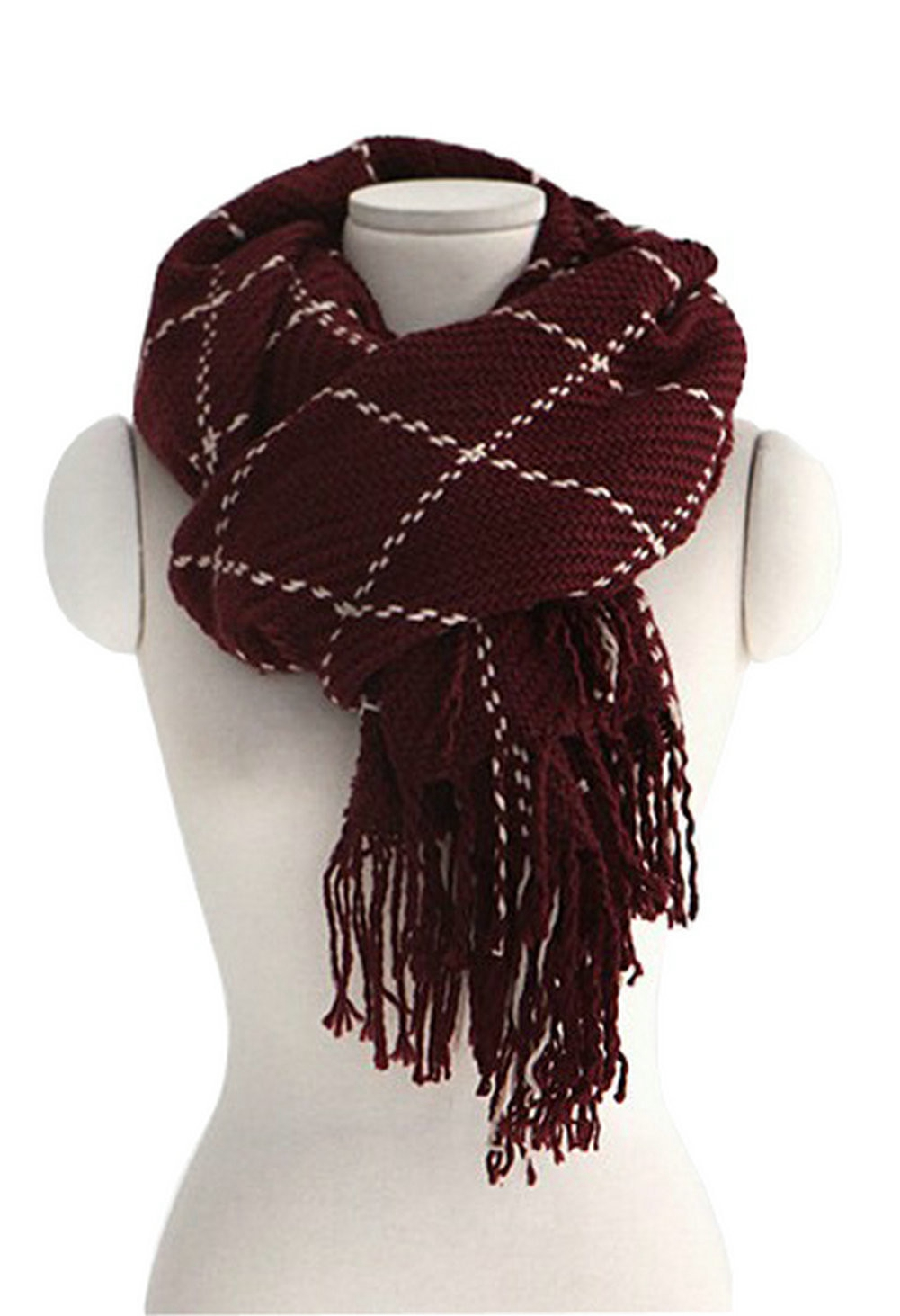 new s fashion knitted scarves warm thick soft