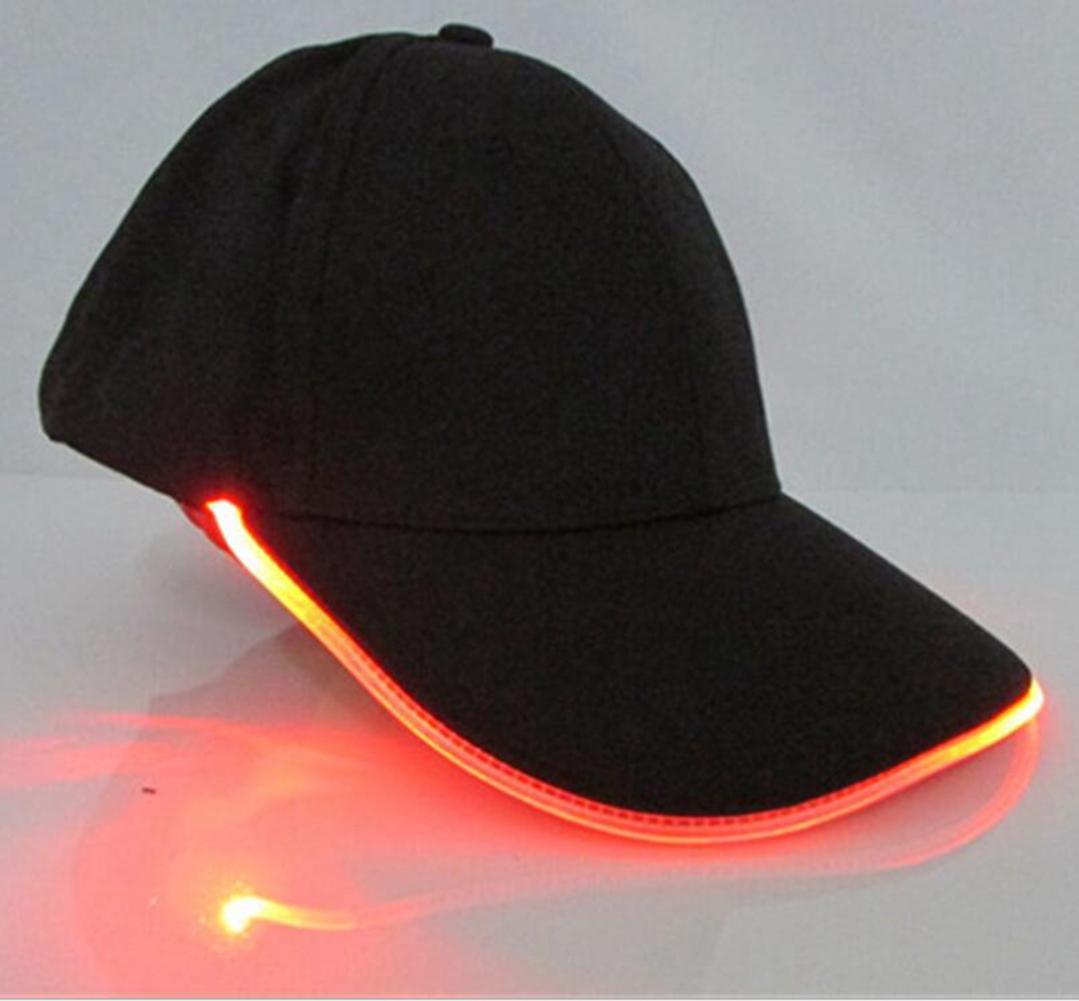 mode led licht lampe basecap baseball kappe m tze hut cap schirmm tze outdoor ebay. Black Bedroom Furniture Sets. Home Design Ideas