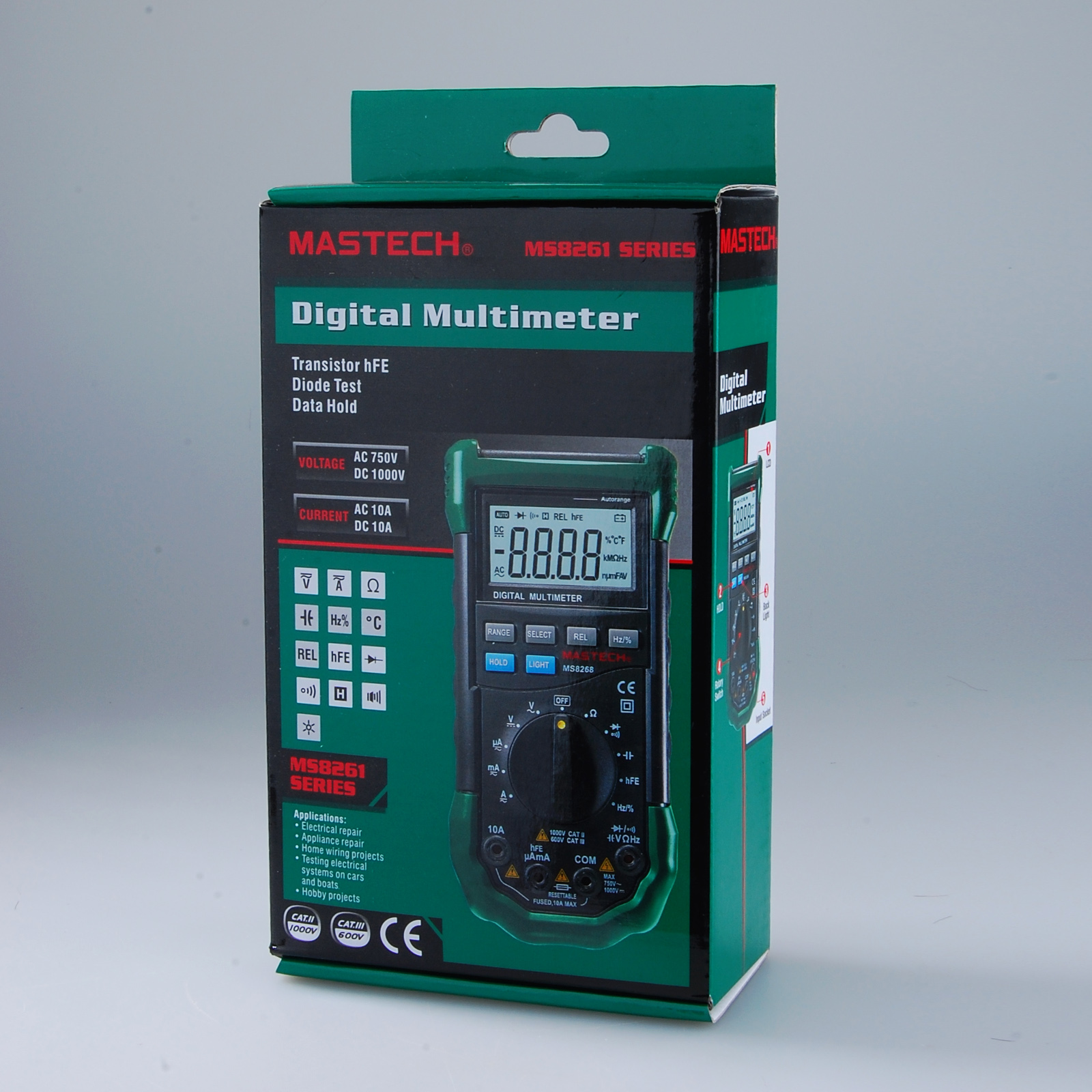 mastech ms8268 digital multimeter user manual