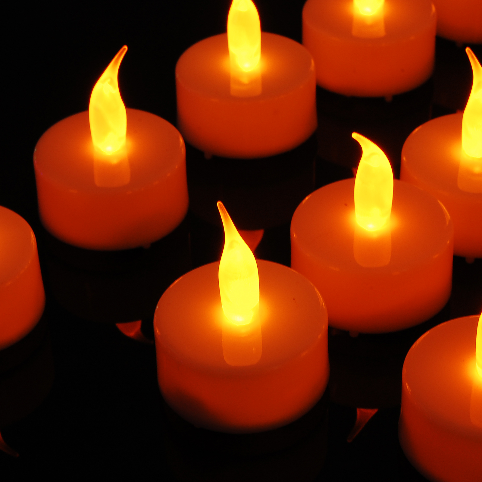 how to clean battery operated candles