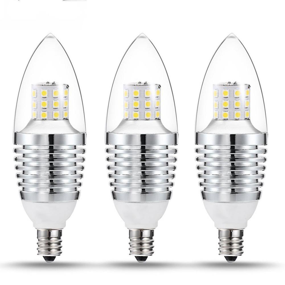 Led Candelabra Bulb: 5pcs LED E12 Candelabra Base Bulb 7W 110V Warm White 2700