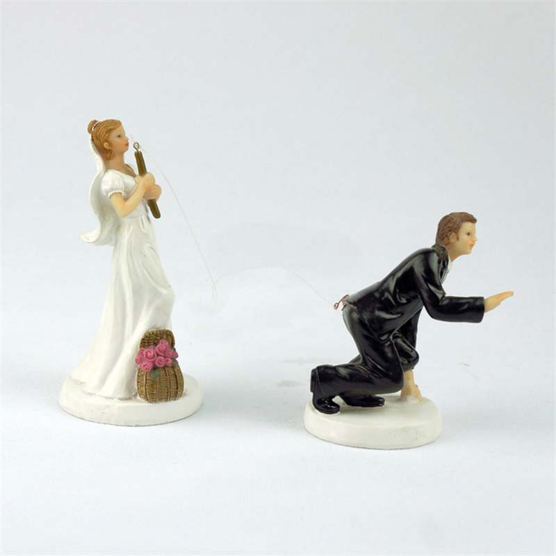 funny cake toppers wonderful wedding cake topper and groom 4424