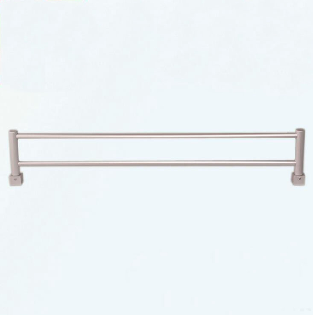 Space aluminum towel rack bathroom parts towel bar wall mounted durable tool ebay - Towel racks for small spaces concept ...