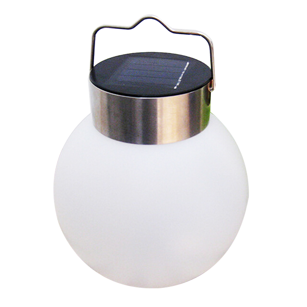2PCS Outdoor Garden Led Solar Powered Light Hanging Ball