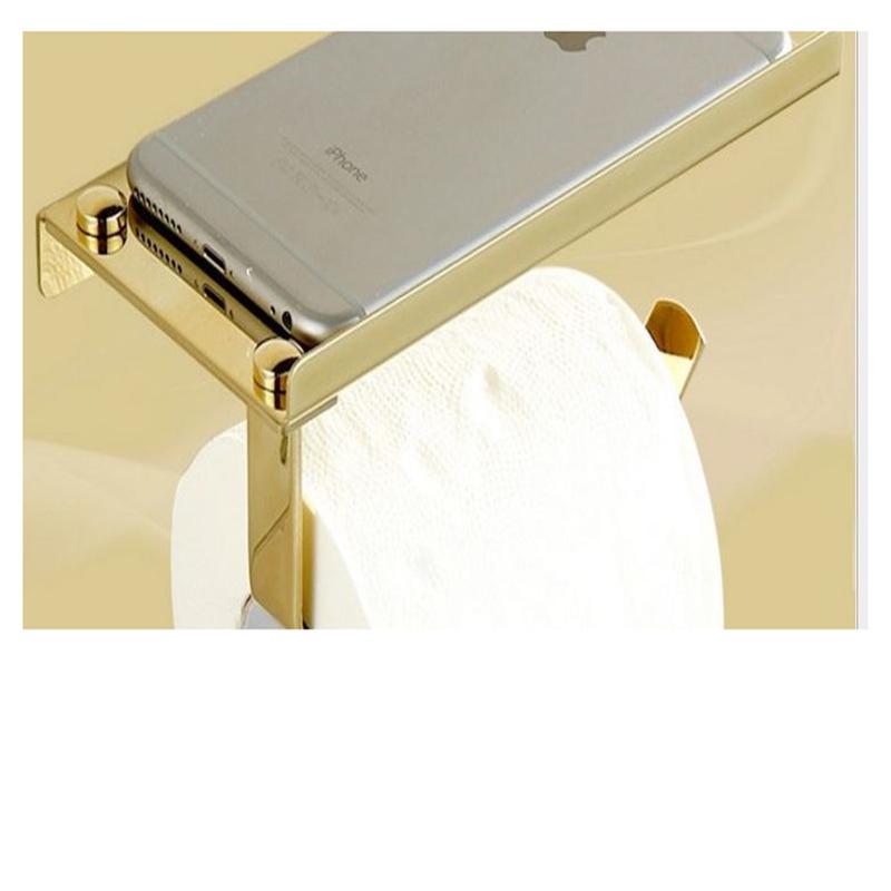 304 Stainless Steel Toilet Paper Tissue Holder Storage