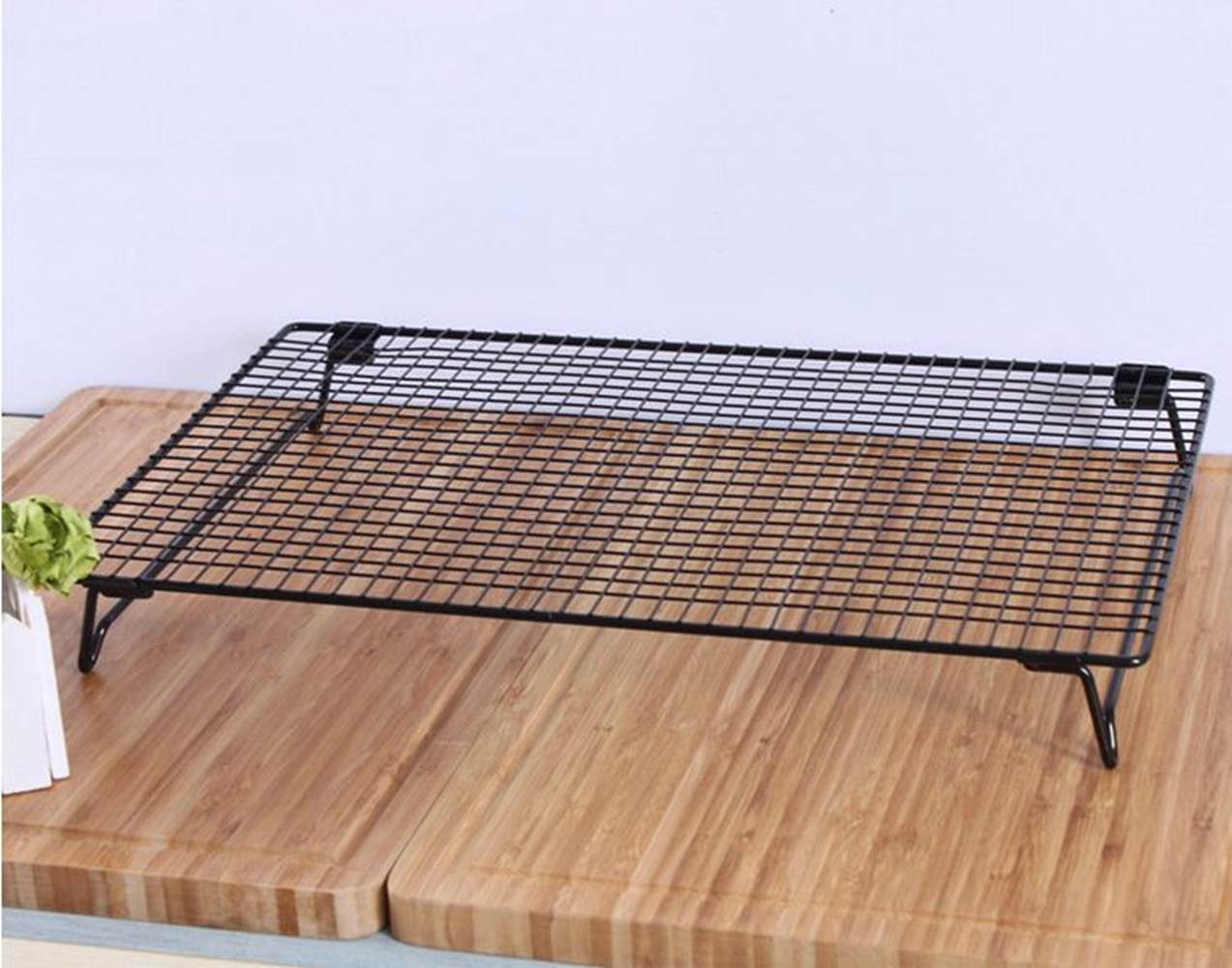 stainless steel cooling baking wire rack roasting cool cookies cakes oven uk new ebay. Black Bedroom Furniture Sets. Home Design Ideas