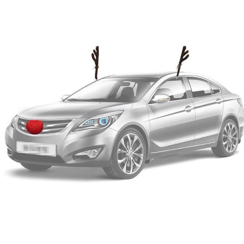 Christmas Reindeer Antlers for Car Truck SUV Van and ...