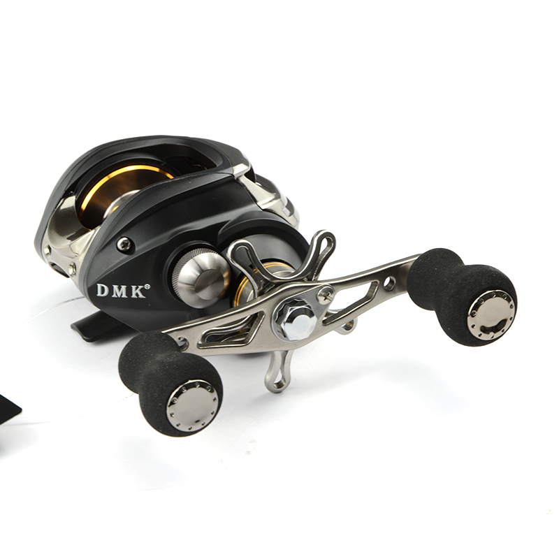 12bb bait casting fishing reel baitcaster reels right left for Left handed fishing reels
