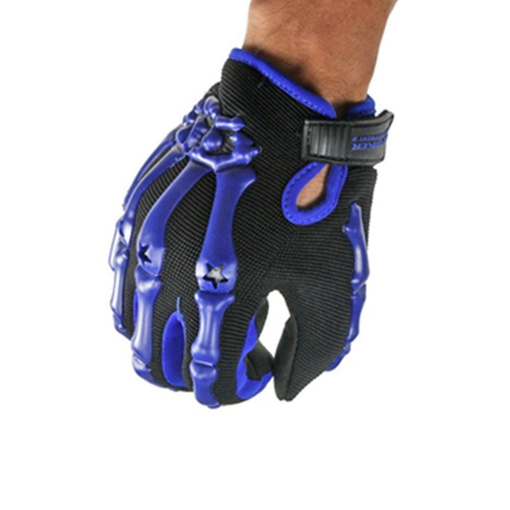 Skeleton Pattern Full Finger Gloves Cycling Bicycle