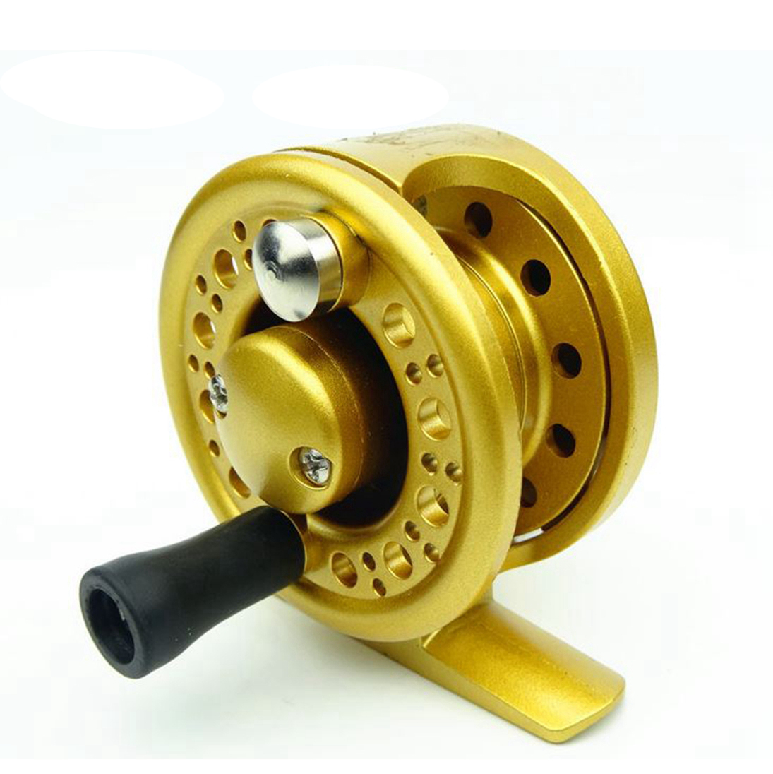 Straight line ice reel bait feeder reels for inshore for Fishing line on reel