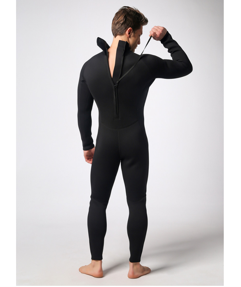 Men Full Body suit Super stretch WetSuit for Diving and ...