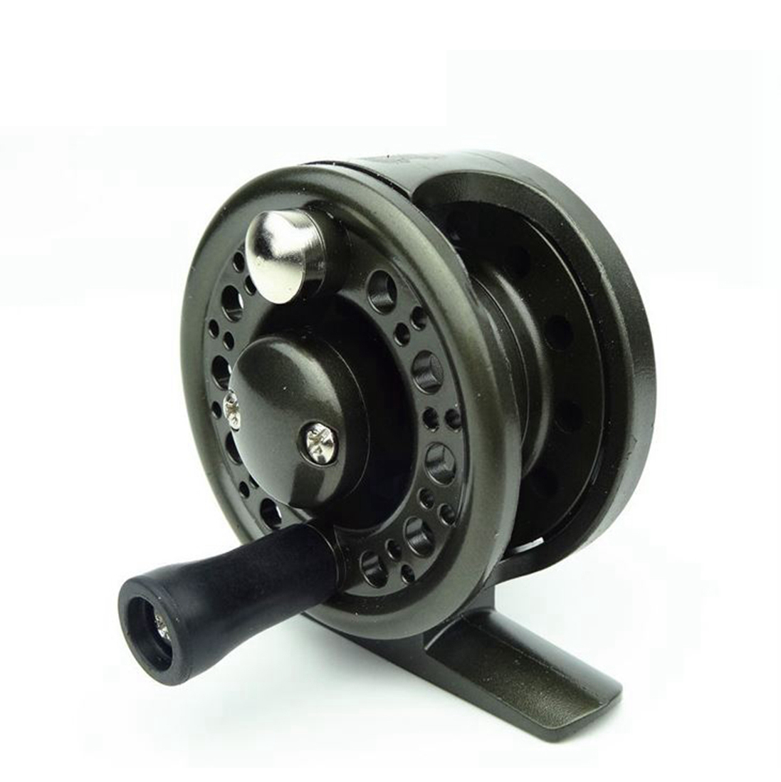 Fly ice fishing reel saltwater reels freshwater tackle for Fly fishing reels ebay