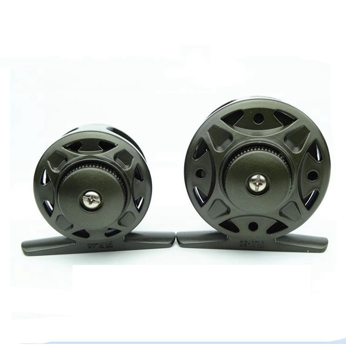 Inshore saltwater ice fishing reels ice reel straight for Ice fishing reel