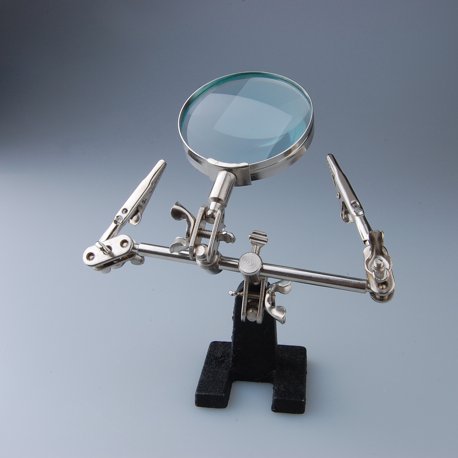 Desk Magnifying Glass : Us desk mounted magnifying glass helping hands